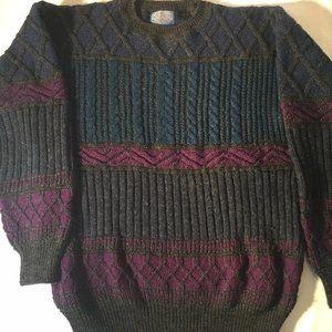 Pendleton Lobo Vintage 100% Virgin Wool Sweater L